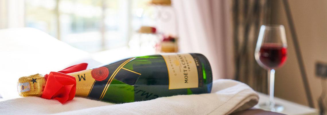 champagne pour une soirée exceptionnelle